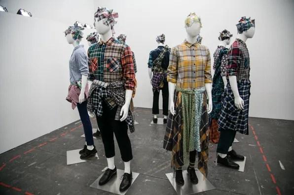 Uniqlo Lifewear Fall Winter 2013 group shot of plaid shirts