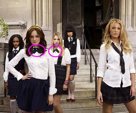 Gossip Girl, Blair Waldorf, Crossover Ties