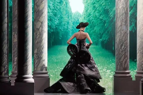 Christian Dior Haute Couture Fall Winter 2008 2009, Musee Rodin, Paris