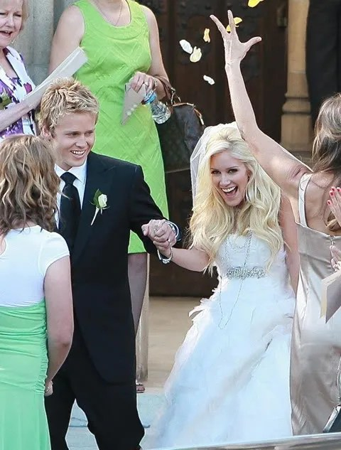 Heidi Montag and Spencer Pratt Wedding Pictures