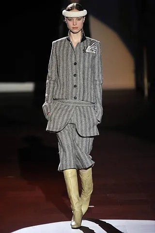 Heloise Guerin at Marc Jacobs Fall/Winter 2008 Fashion Show