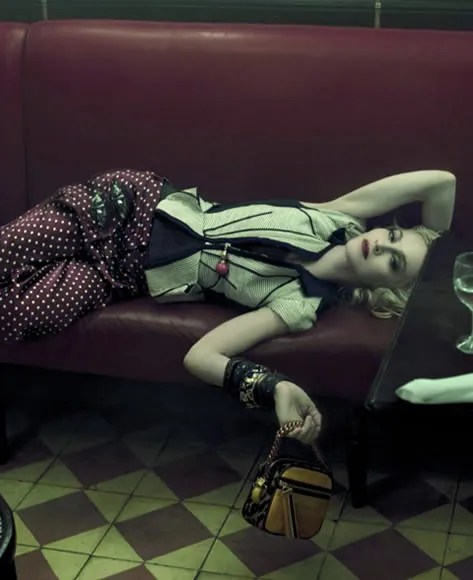 Louis Vuitton Spring 2009 Ad Campaign photo shot by Steven Meisel starring Madonna.