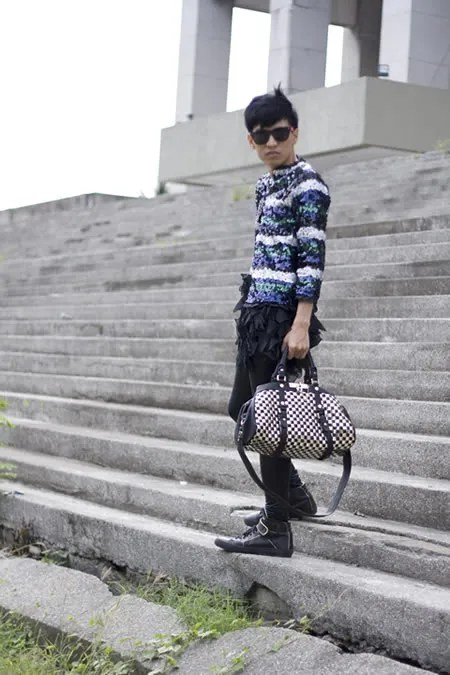 Bryanboy's Marc by Marc Jacobs Metal Check Groovee Bag