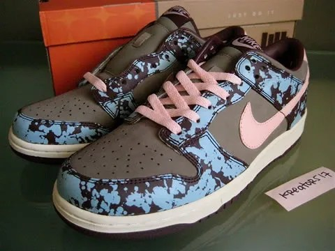 Nike Dunk Undefeated Splatter sneakers