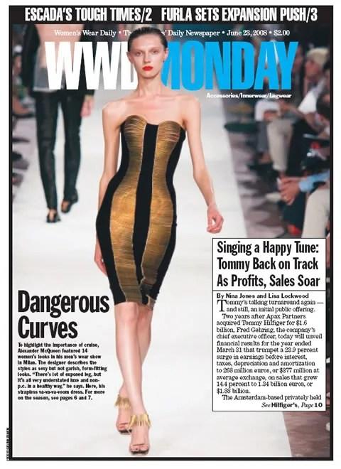 Olga Sherer, Alexander McQueen, Women's Wear Daily