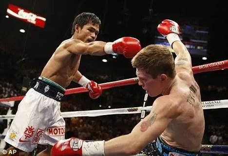 Ricky Hatton vs Manny Pacquiao photos