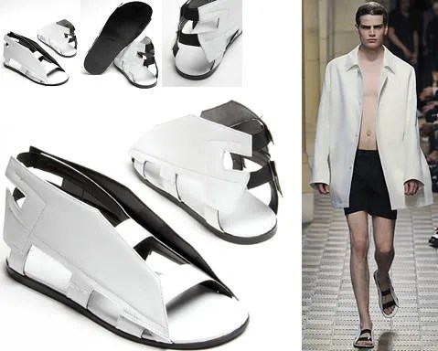Raf Simons Spring 2009 shoes sandals runway