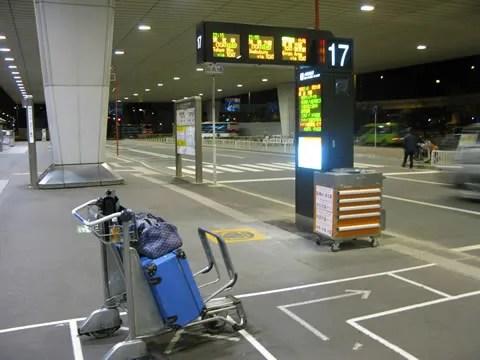 Tokyo Narita Airport Limousine Bus #17 to Ikebukuro
