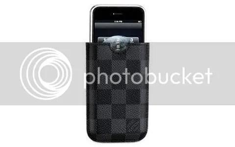 Louis Vuitton Damier Graphite iPhone Case