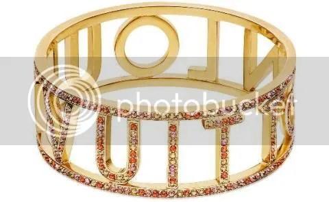 Louis Vuitton 1001 Nights Orange Bracelet