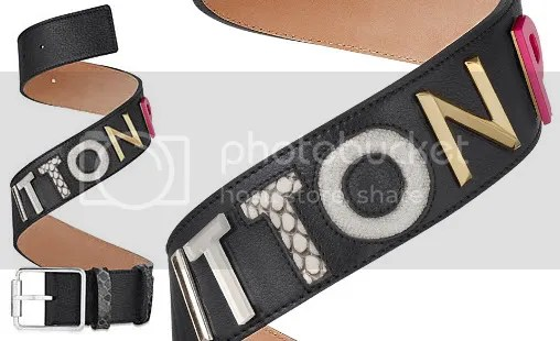 Louis Vuitton Collage Belt