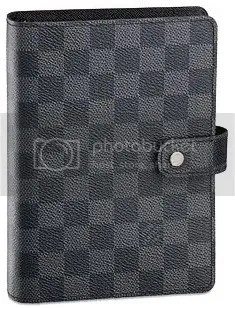 Louis Vuitton Damier Graphite Medium Ring Agenda
