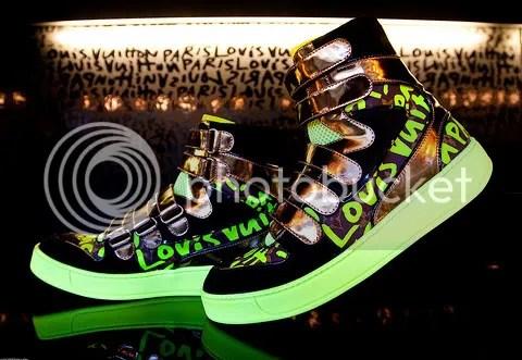 Louis Vuitton Graffiti Sneaker Boot