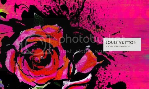 Louis Vuitton Website: Stephen Sprouse Tribute
