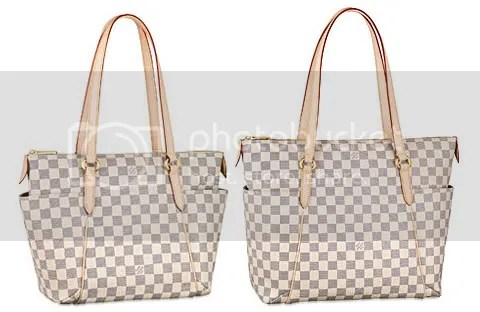 Louis Vuitton Damier Azur Totally