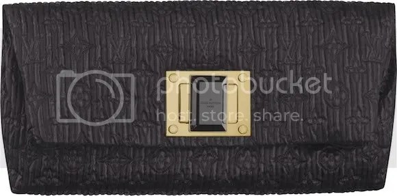 Louis Vuitton Monogram Altaïr Clutch Black