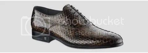 Louis Vuitton Spy Richelieu in  Python Leather