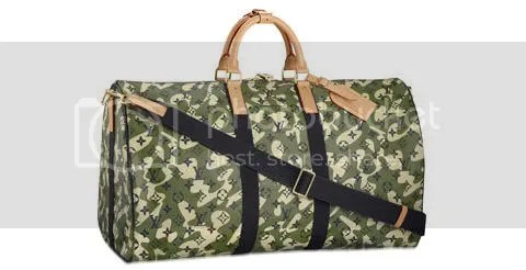 Louis Vuitton Monogramouflage Keepall 55