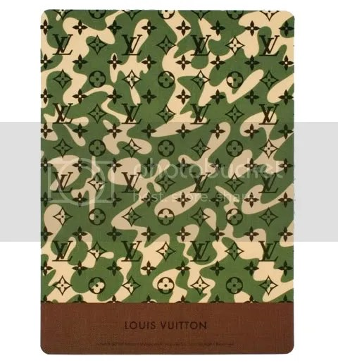 Louis Vuitton  Monogramouflage Mouse Pad
