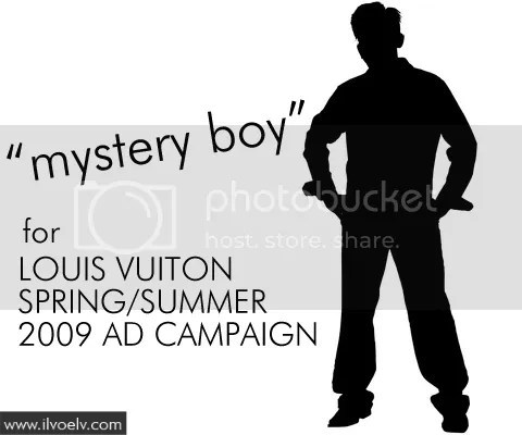 Mystery Boy for Louis Vuitton's Spring/Summer 2009 Ad Campaign
