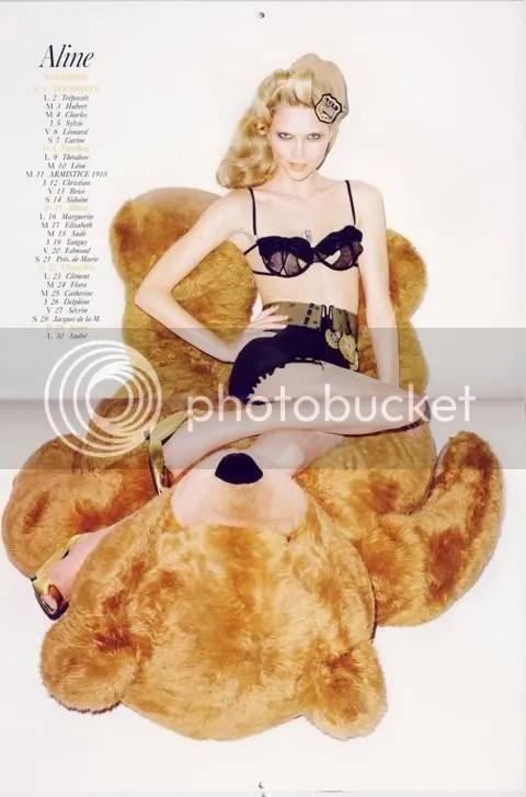 Vogue Paris Calendar 2009