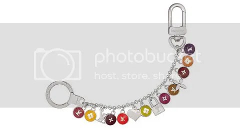Louis Vuitton Pastilles Chains Key Ring