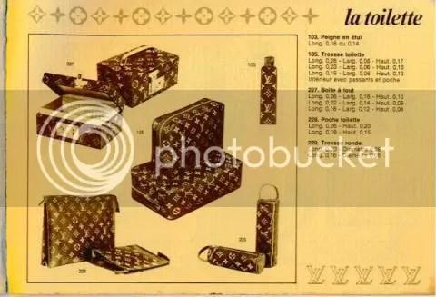 Vintage Louis Vuitton Catalog