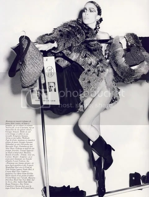 Vouge Paris August 2008 Editorial