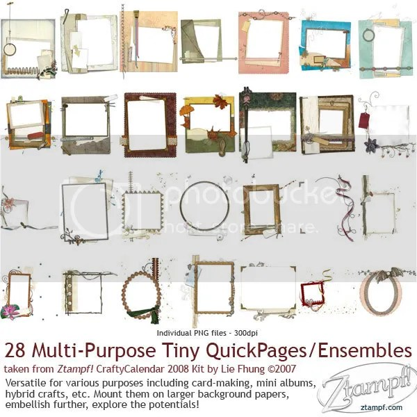 Ztampf! Tiny QuickPages Set 08