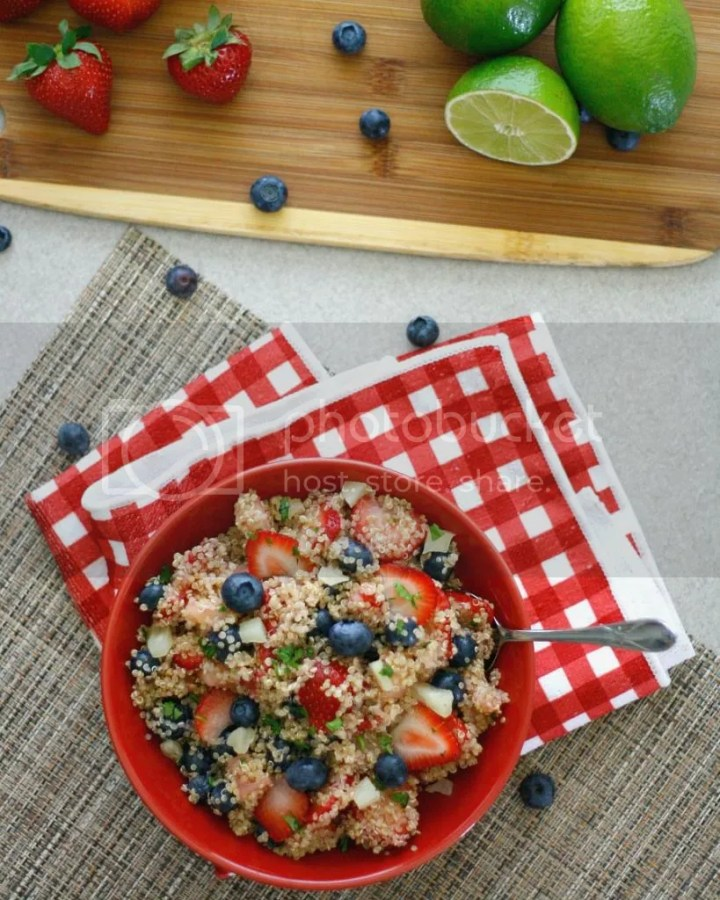 Quinoa Fruit Salad | The Crave Gallery