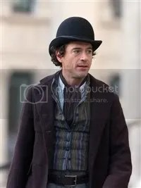 Robert Downey Jr is starring in Guy Ritchie's Sherlock Holmes movie.