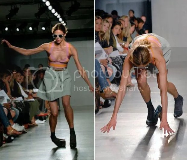 Fashion Runway Accident