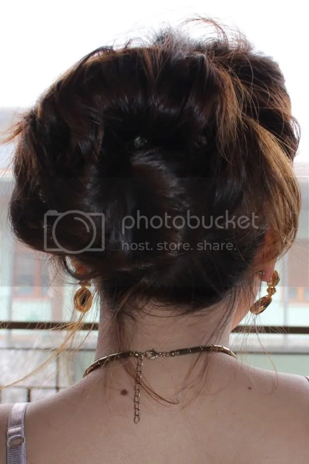 Poufy Updo hairstyle