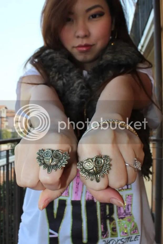 Owl Fashion Ring