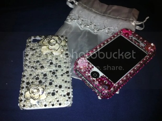 iPhone4 Bling Lux Addiction koreandoll