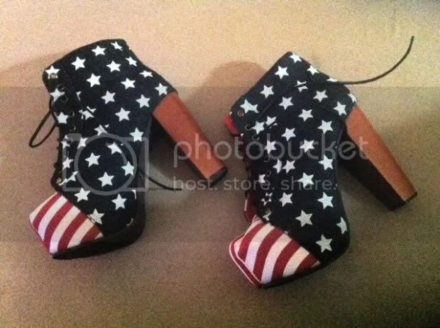 American Flag Lita Shoes Jeffrey Campbell