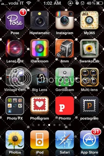 Camera Instagram Hipstamatic Apps