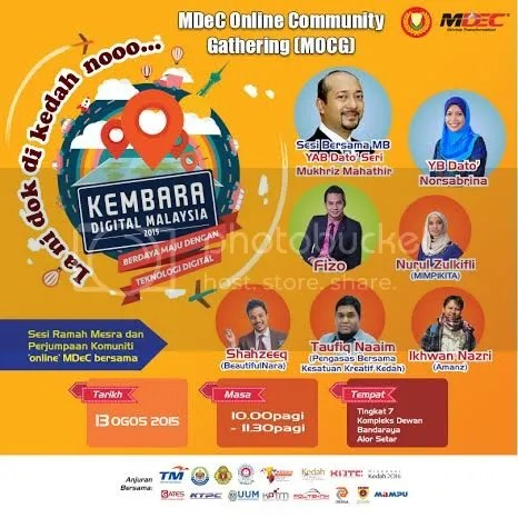 Kembara Digital Malaysia Di Kedah Meriah & Hangat!!!