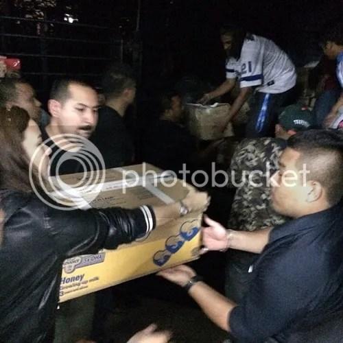nora danish bantu mangsa banjir