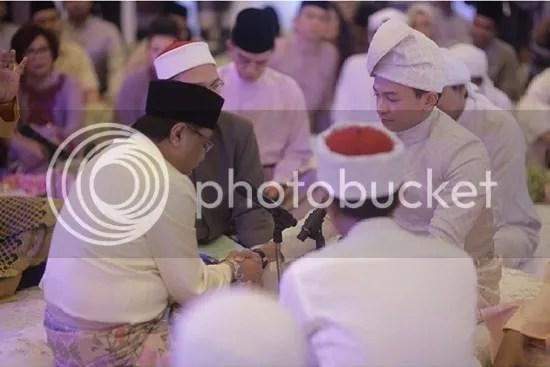 gambar pernikahan jovian mandagie nina ismail sabri