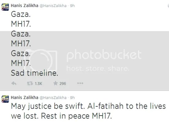 pray for mh17