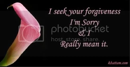 hanez mohon maaf