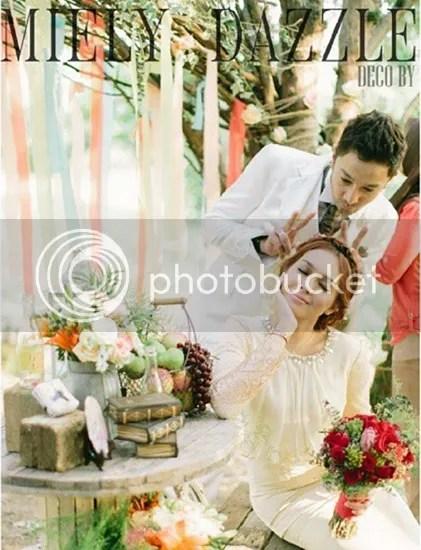 gambar kahwin qi dan nelydia