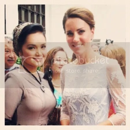 siti nurhaliza jumpa kate middleton