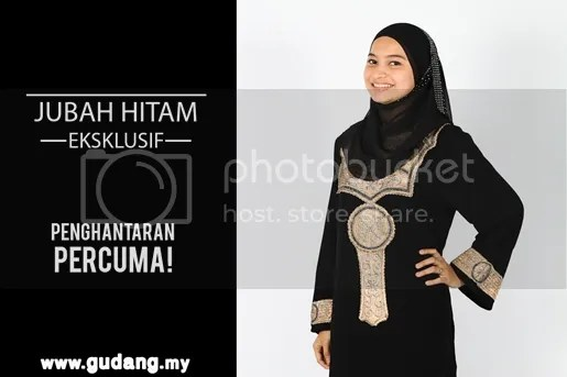 jubah hitam gudang