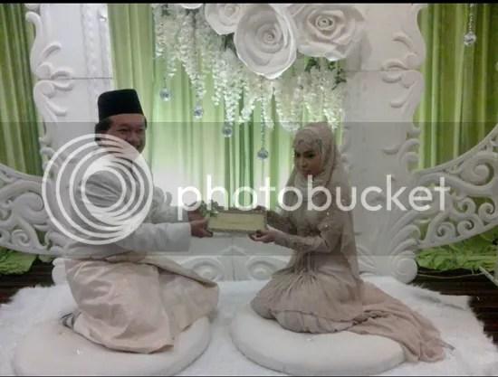 amir jahari kahwin
