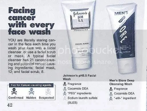 facial wash yang cancer