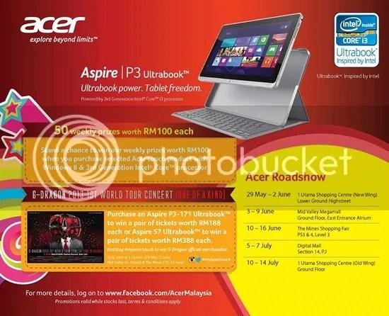 Acer Aspire p3 Ultrabook Acer p3 Ultrabook