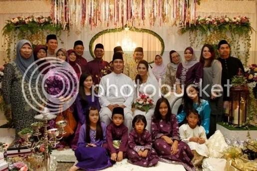 gambar pernikahan zed zaidi