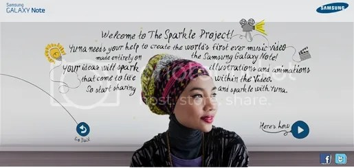 yuna the sparkle project